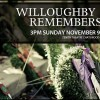 Past Concert: Willoughby Remembers
