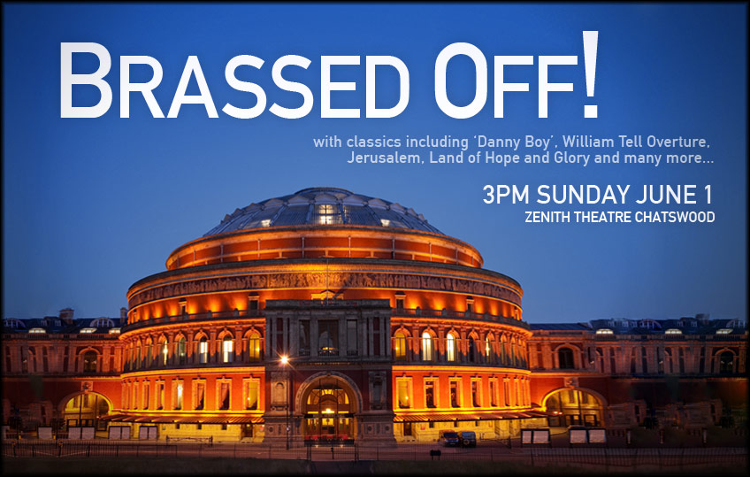Next Concert: Brassed Off!