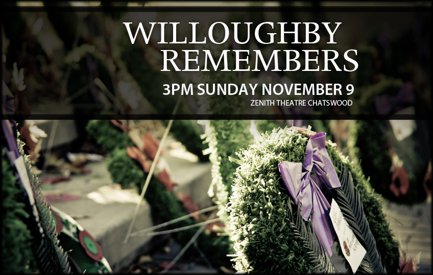 Next Concert: Willoughby Remembers