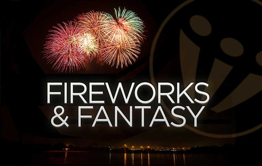 Next Concert Sunday March 22nd:</br> <b>Fireworks & Fantasy</b>
